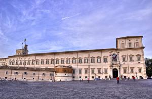 Palazzo del Quirinale. Foto da Wikipedia, Bernardo Marchetti